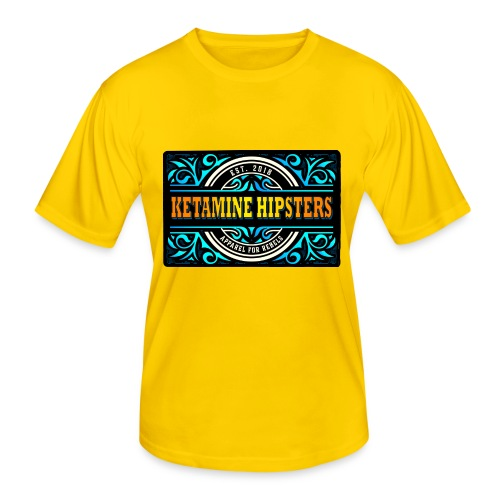 Black Vintage - KETAMINE HIPSTERS Apparel - Men's Functional T-Shirt