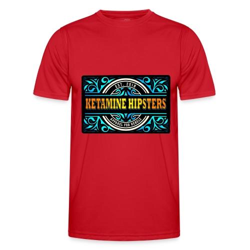 Black Vintage - KETAMINE HIPSTERS Apparel - Men's Functional T-Shirt