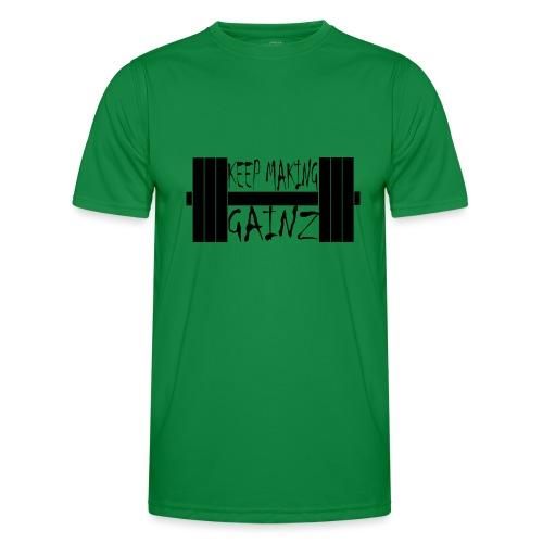 Weight + Text - Men's Functional T-Shirt
