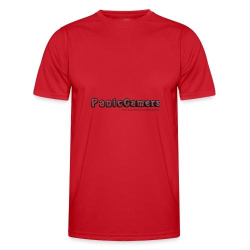 Cover PanicGamers - Maglietta sportiva per uomo