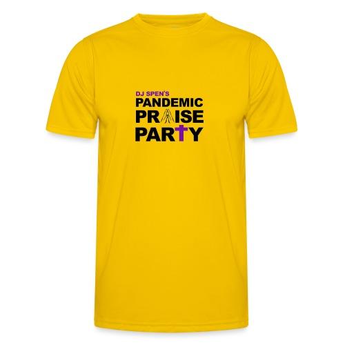 Pandemic Praise Party Logo - Men's Functional T-Shirt