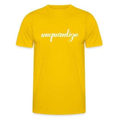 unquantize white logo - Men's Functional T-Shirt