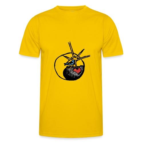 Mindfackt logo - Miesten tekninen t-paita