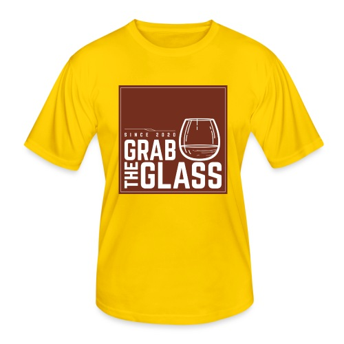 Grabtheglass LOGO - Männer Funktions-T-Shirt