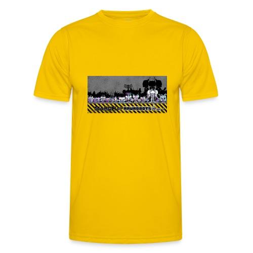 #MarchOfRobots ! LineUp Nr 2 - Funktionsshirt til herrer