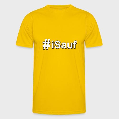 Hashtag iSauf klein - Männer Funktions-T-Shirt