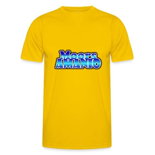 MoorsAmanioLogo - Functioneel T-shirt voor mannen