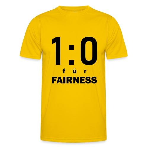 FAIRNESS in Führung - Männer Funktions-T-Shirt