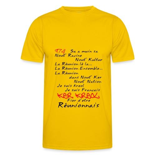 Kosement kreol - 974 La Réunion - T-shirt sport Homme