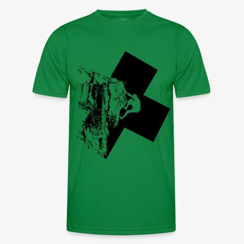 Rock climbing - Men's Functional T-Shirt