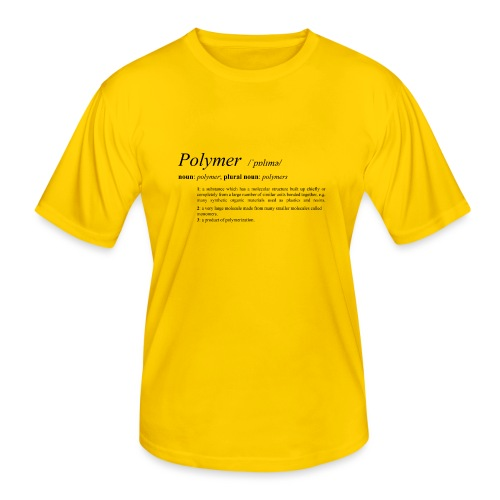 Polymer definition. - Men's Functional T-Shirt