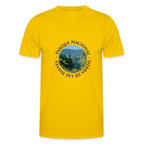 Parque Nacional Sierra de las Nieves - Camiseta funcional para hombres