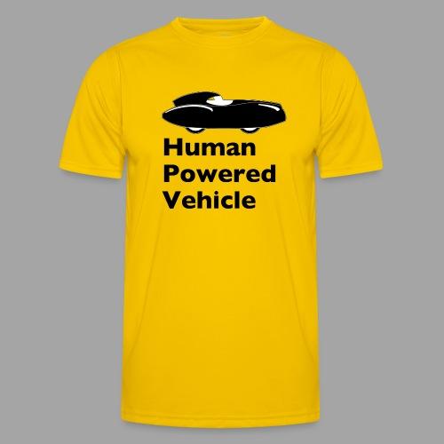 Quattrovelo Human Powered Vehicle black - Miesten tekninen t-paita