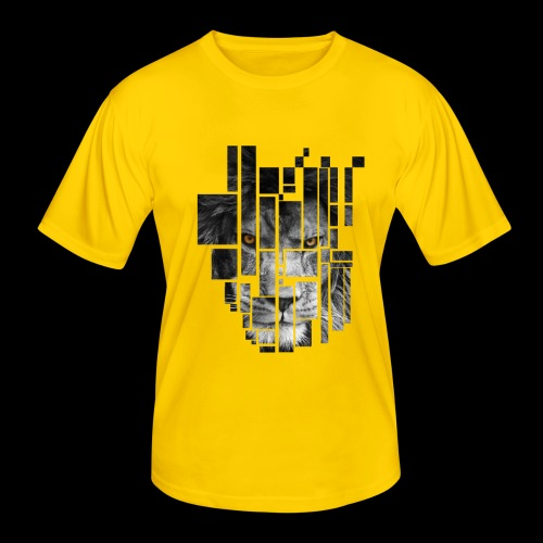 Pixel Lion Tattoo Inspire - Men's Functional T-Shirt