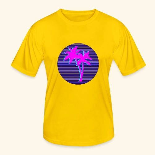 Florida palmtree - T-shirt sport Homme