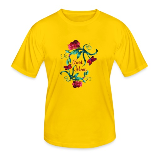Best Mom - Männer Funktions-T-Shirt