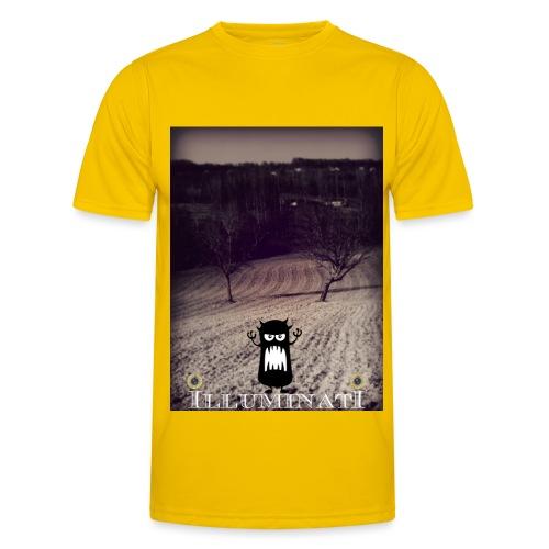 illuminati - T-shirt sport Homme