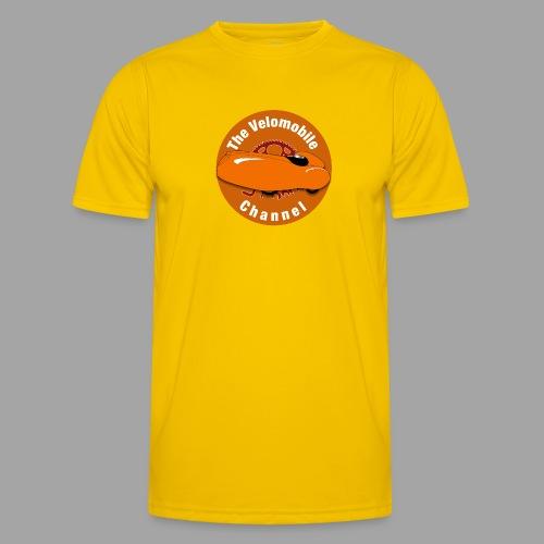 The Velomobile Channel logo - Miesten tekninen t-paita