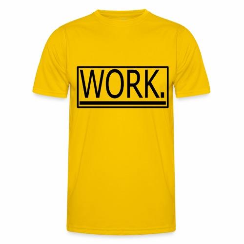 WORK. - Functioneel T-shirt voor mannen