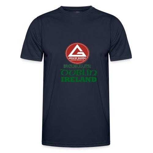Gracie Barra Dublin Gaelic Celtic Font PNG - Men's Functional T-Shirt