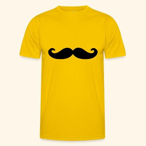 Loco Moustache - Functioneel T-shirt voor mannen