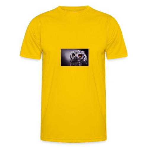 Pöllö - Miesten tekninen t-paita