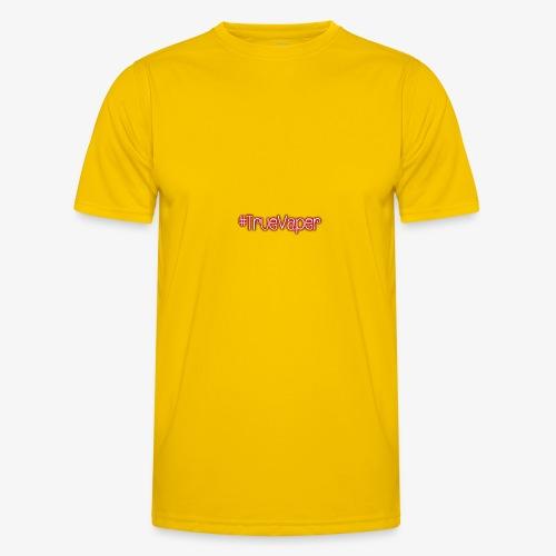 #TrueVaper - Miesten tekninen t-paita