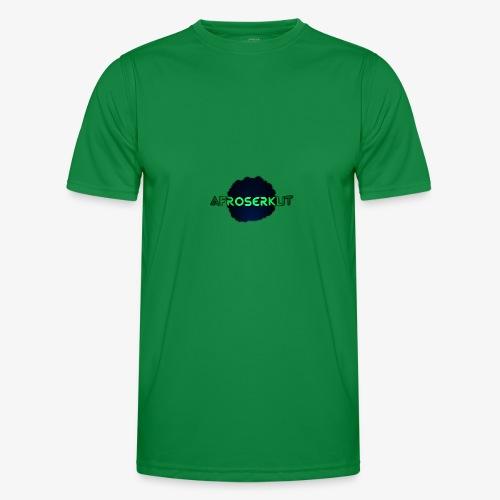 AfroSerkut LOGO - Miesten tekninen t-paita