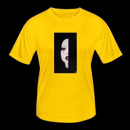 BlackWhitewoman - Maglietta sportiva per uomo