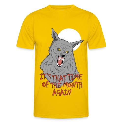 That Time of the Month - Funkcjonalna koszulka męska