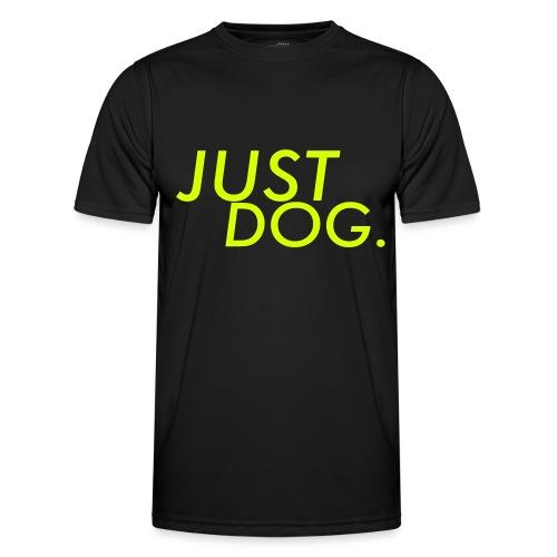 just dog WHNDGS Hundesport Agility Geschenkidee - Männer Funktions-T-Shirt