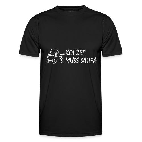 KoiZeit Saufa - Männer Funktions-T-Shirt