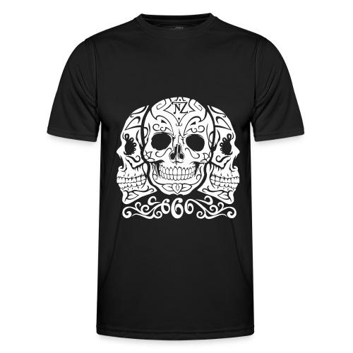 Skull Dia de los muertos - T-shirt sport Homme