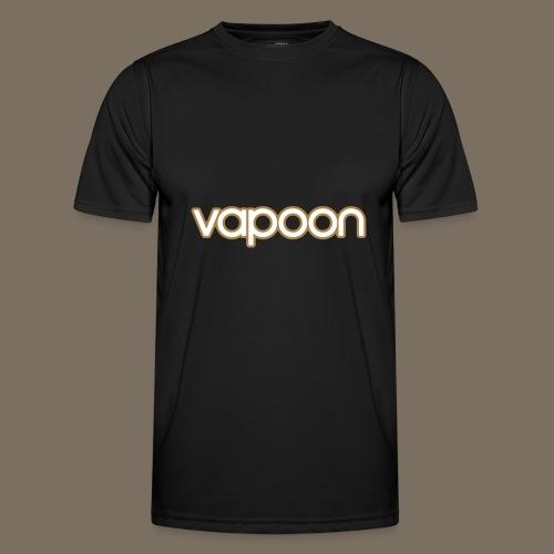 Vapoon Logo simpel 2 Farb - Männer Funktions-T-Shirt