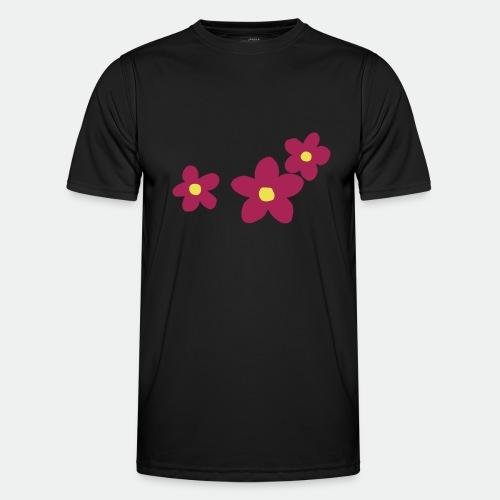 Three Flowers - Men's Functional T-Shirt