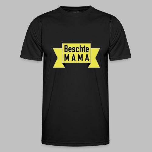 Beschte Mama - Auf Spruchband - Männer Funktions-T-Shirt