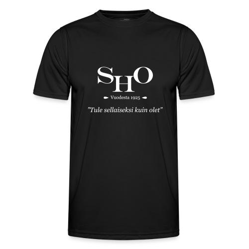 SHO - Tule sellaiseksi kuin olet - Miesten tekninen t-paita