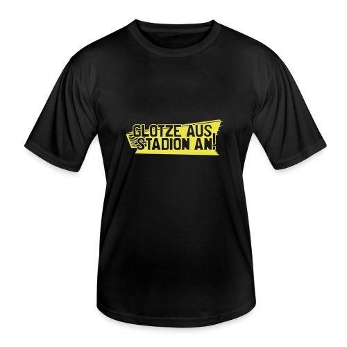 GLOTZE AUS, STADION AN! - Männer Funktions-T-Shirt