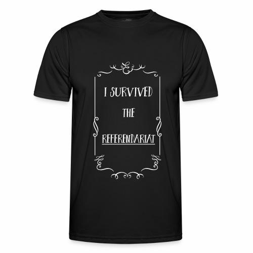 I survived the Referendariat - Männer Funktions-T-Shirt