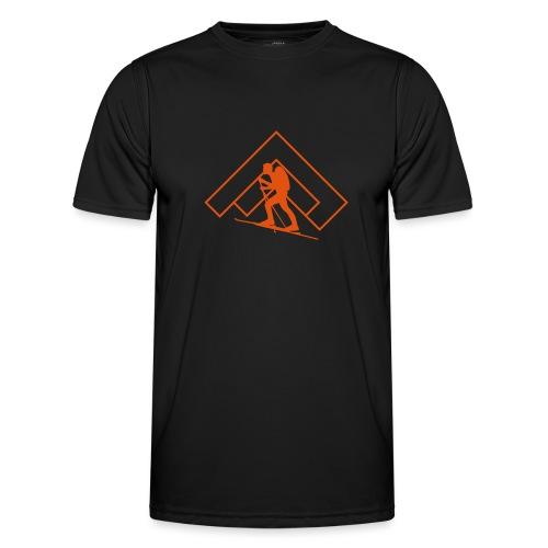 Skitour - Männer Funktions-T-Shirt