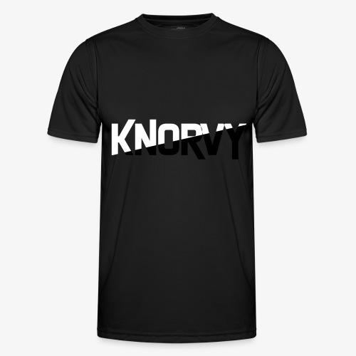 KNORVY - Functioneel T-shirt voor mannen