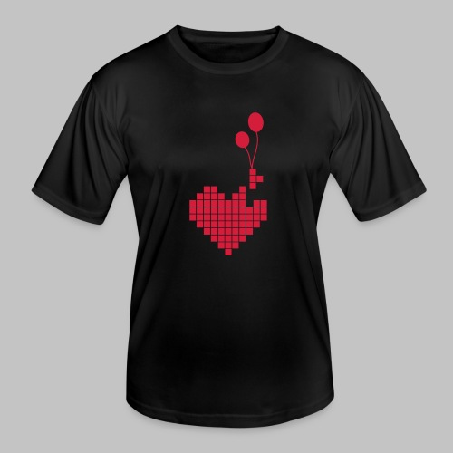 heart and balloons - Men's Functional T-Shirt
