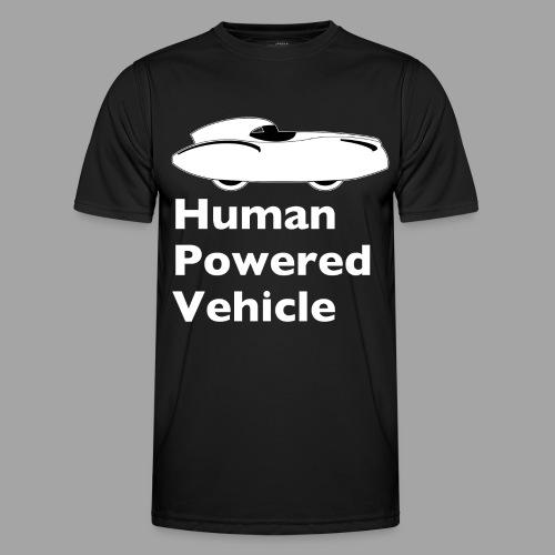 Quattrovelo Human Powered Vehicle white - Miesten tekninen t-paita