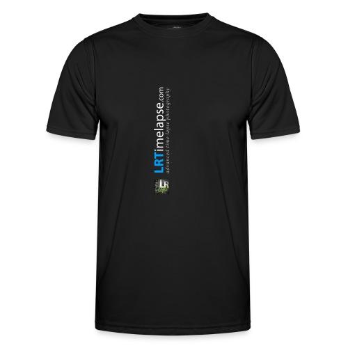 LRTImelapse Shirt Logo Vorne Hoch breiter3 png - Männer Funktions-T-Shirt