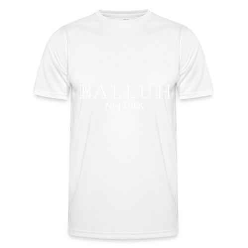 BALLUH NI-J DIEK - zwart/wit - Functioneel T-shirt voor mannen