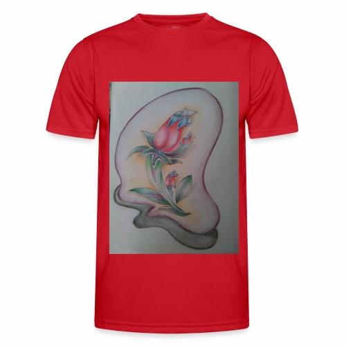 fiore magico - Maglietta sportiva per uomo