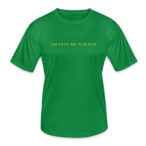 The right way to be rich - T-shirt sport Homme