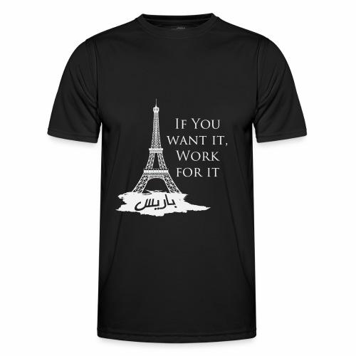 Paris dream work - T-shirt sport Homme