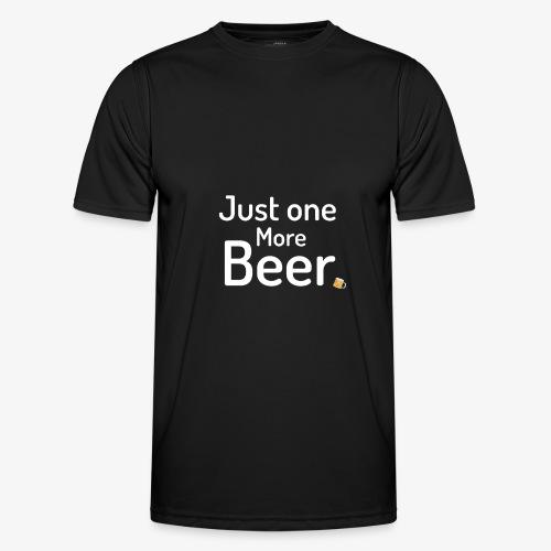 One more beer - Functioneel T-shirt voor mannen