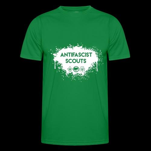 Antifascist Scouts - Men's Functional T-Shirt